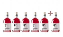 Vino Rosado Lar De Maía 8º Lote de 5 botellas + 1 de regalo